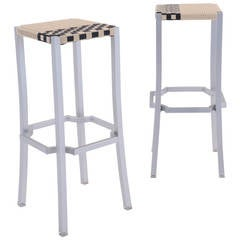 Philippe Starck One Cafe Indoor or Outdoor Bar Stools for Driade, Italy