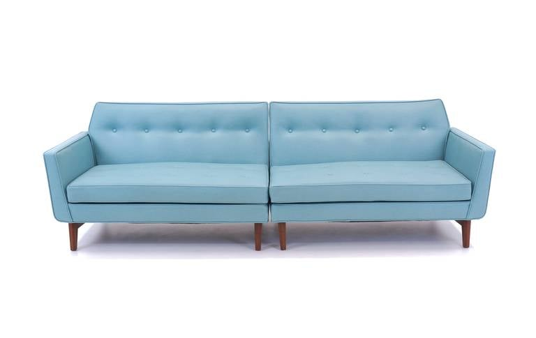 Dunbar Sectional Sofa Custom Designed By Edward Wormley