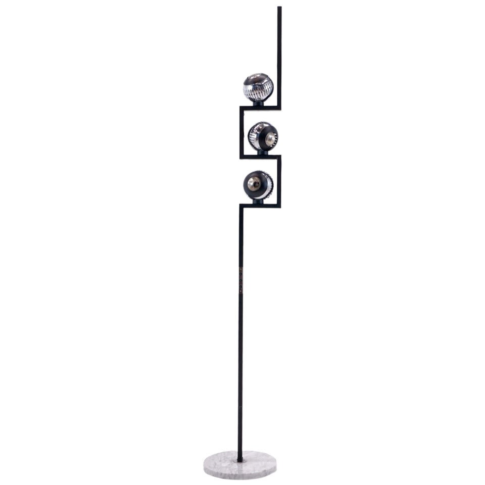 Angelo Lelli for Arredoluce and Arteluce Floor Lamp