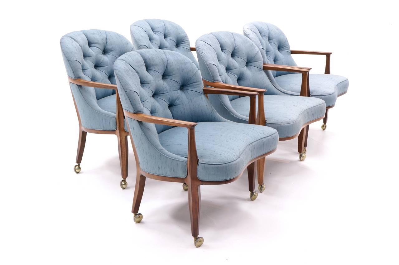 Three available edward wormley for dunbar janus chairs at 1stdibs - Edward wormley chairs ...