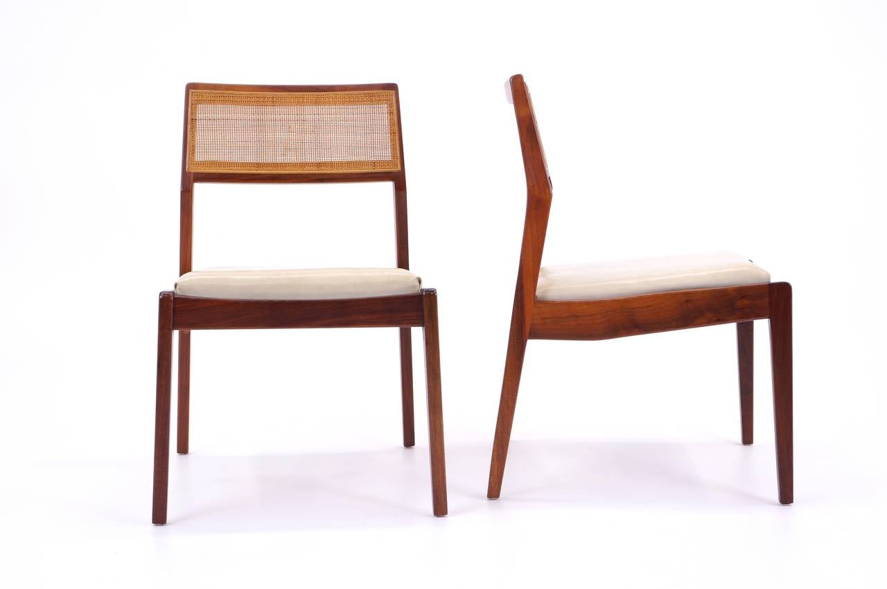 Set of six jens risom dining chairs at 1stdibs - Jens risom dining chairs ...