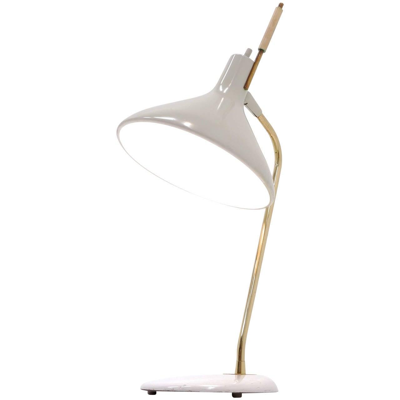 Gerald Thurston For Lightolier Desk Or Table Lamp