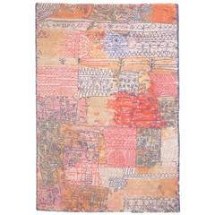 "Paul Klee Carpet ""Florentinisches Villenviertel"" by Ege Axminster, Denmark"