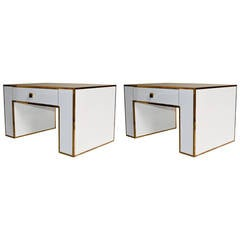 1970s Pair of Night Stands by Alberto Rochi