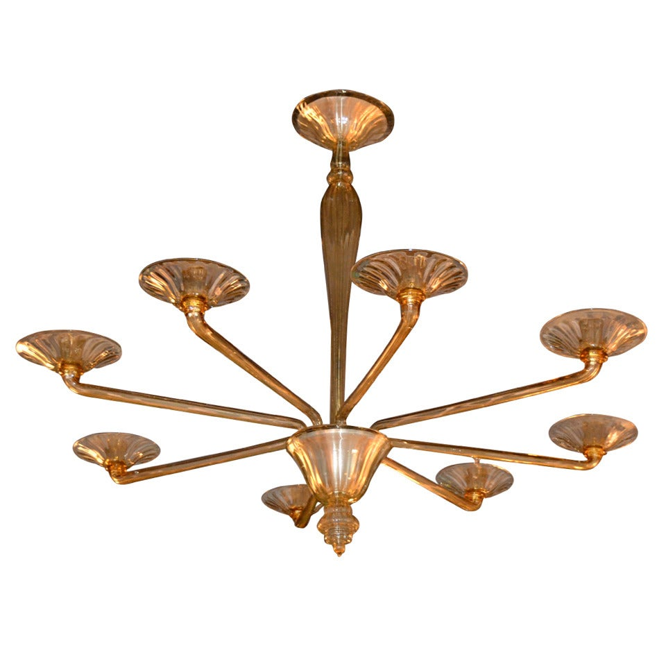 1960s large murano glass chandelier at 1stdibs