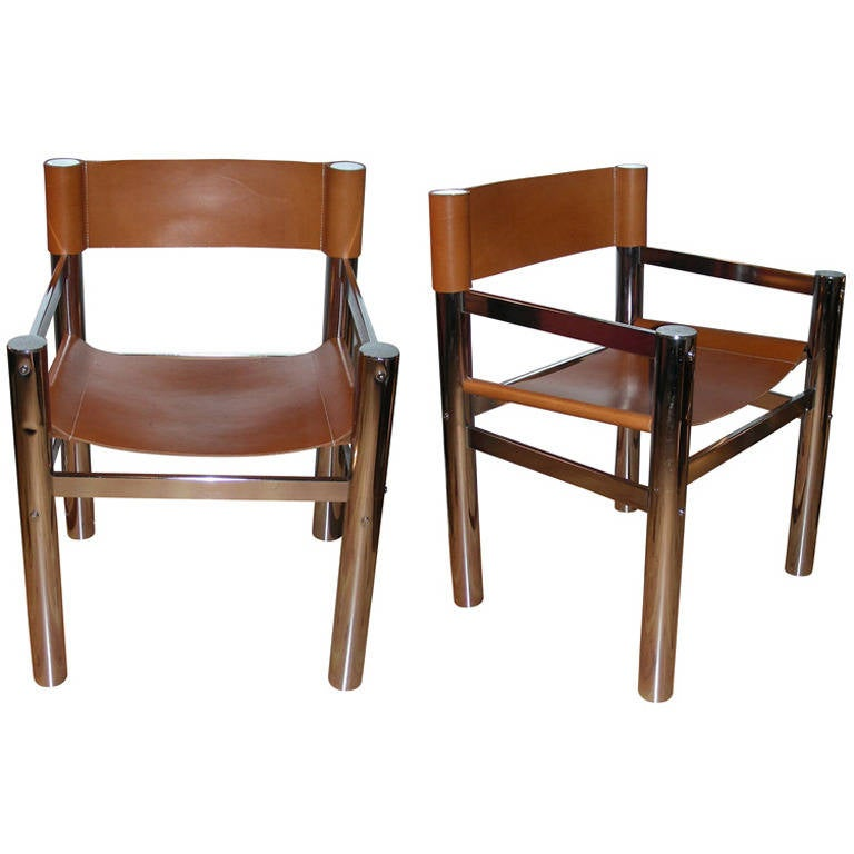 Two 1970s Armchairs For Sale