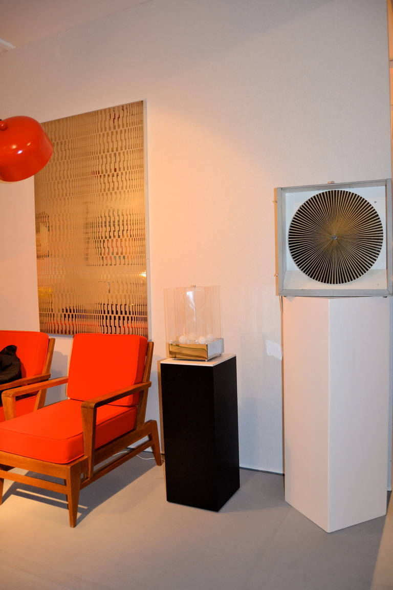 Kinetic Lucite Lamp for Sormani For Sale 3