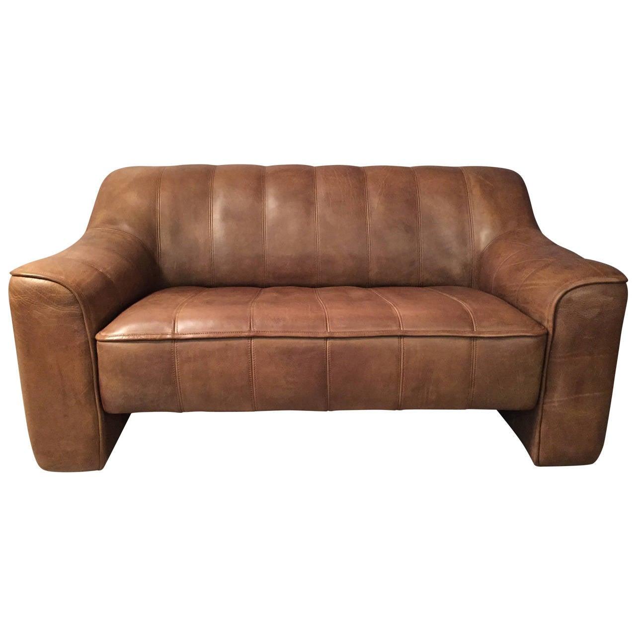 de sede ds44 two seat sofa at 1stdibs. Black Bedroom Furniture Sets. Home Design Ideas