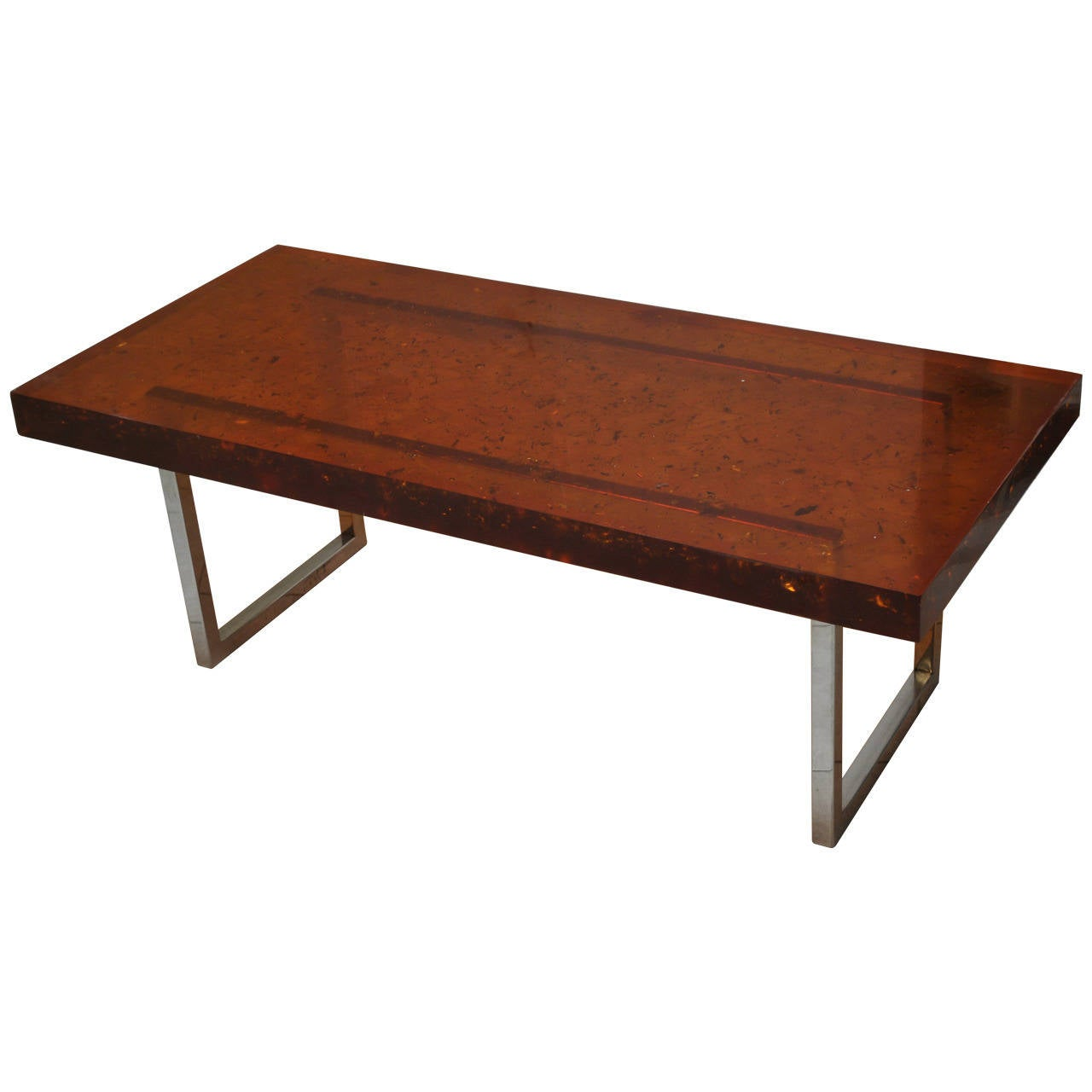 Modernist Fractal Resin Coffee Table The Henri Fernandez Private Collection For Sale At 1stdibs