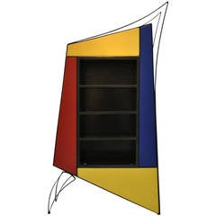 One-of-a-Kind Architectural Display Cabinet by Cyrille Varet, 1994