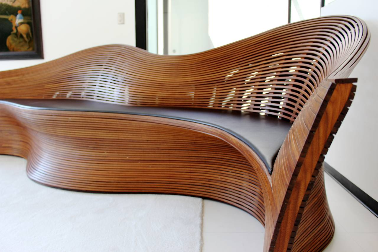 Unique Steam Bent Walnut Sofa Steam 21 By Bae Se Hwa