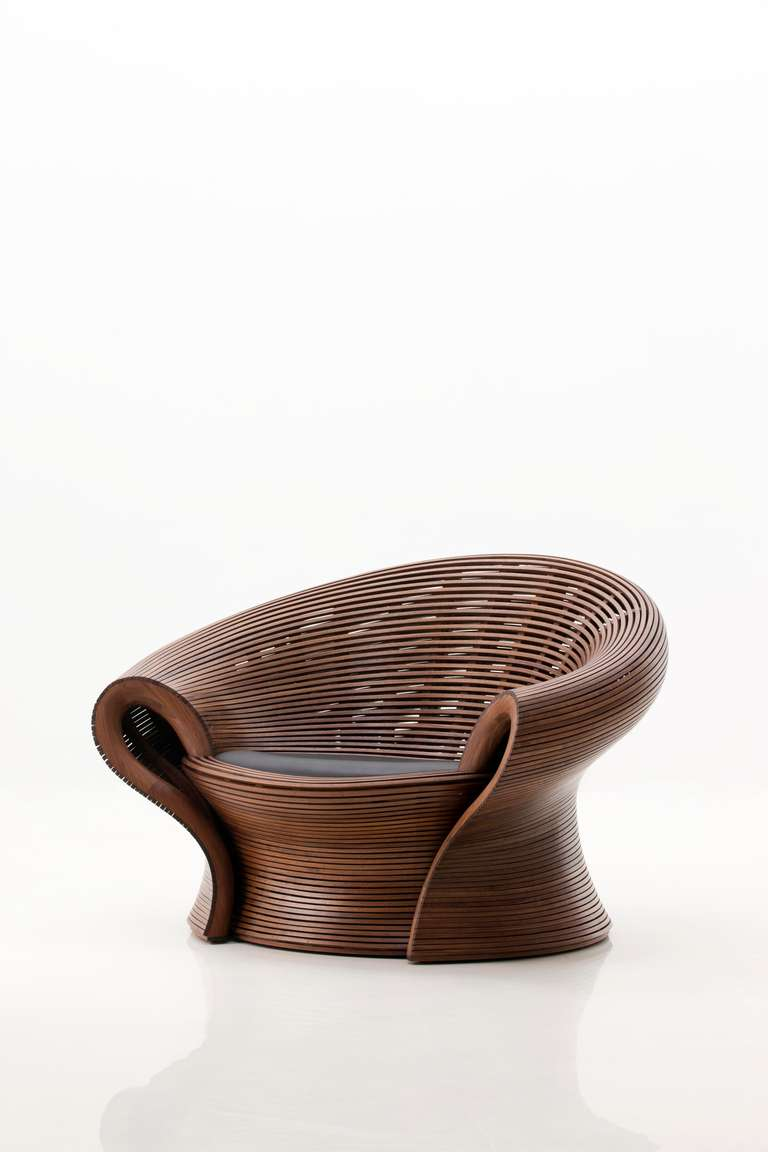 Steam 23 Walnut Steam Bent Chair By Bae Se Hwa 2013