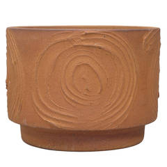 David Cressey Ceramic Planter, 'Expressive' Design, 1960s