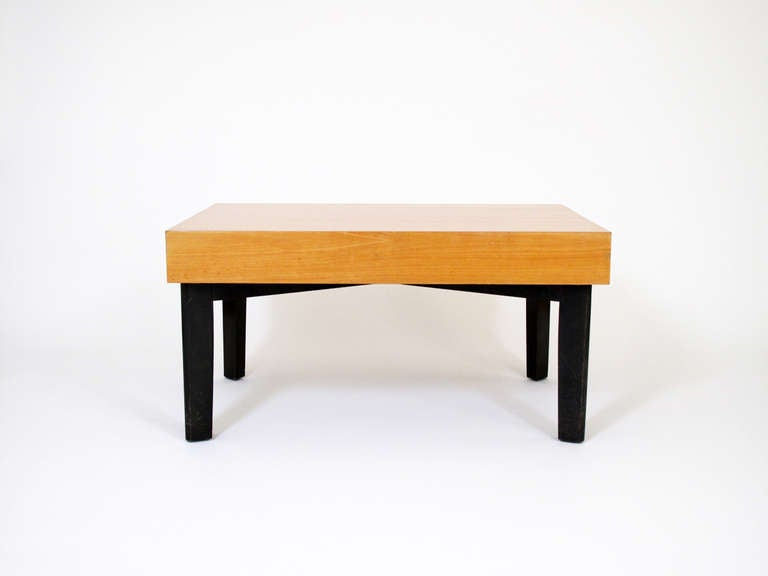 George Nelson Coffee Table With Extensions And Trays 1949