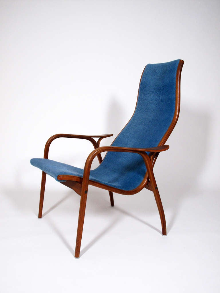 Swedese Lamino Lounge Chair by Yngve Ekström at 1stdibs