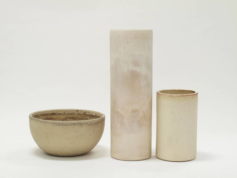 Vessel Architectural Pottery: Bisque Vessels By John Follis For Architectural Pottery At
