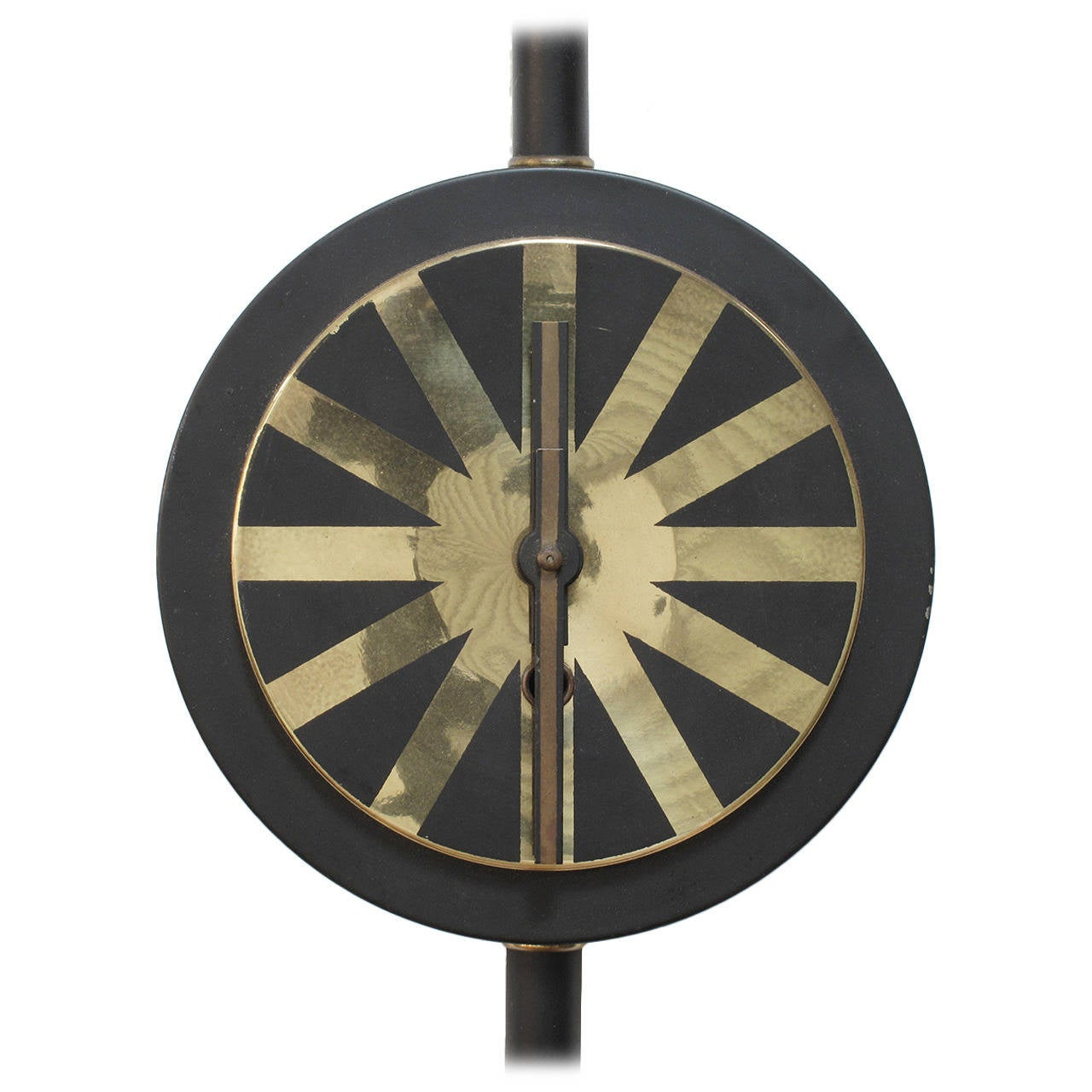 Modernist Wall Clock Made In Germany 1957 At 1stdibs