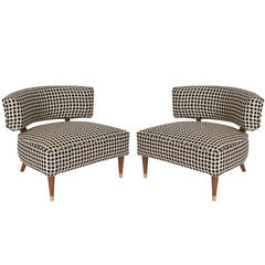 Pair of Club Chairs in the Manner of Billy Haines
