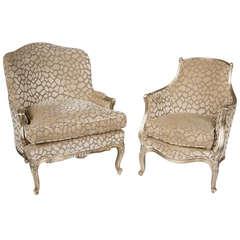 Pair of Maison Jansen Attributable Chairs