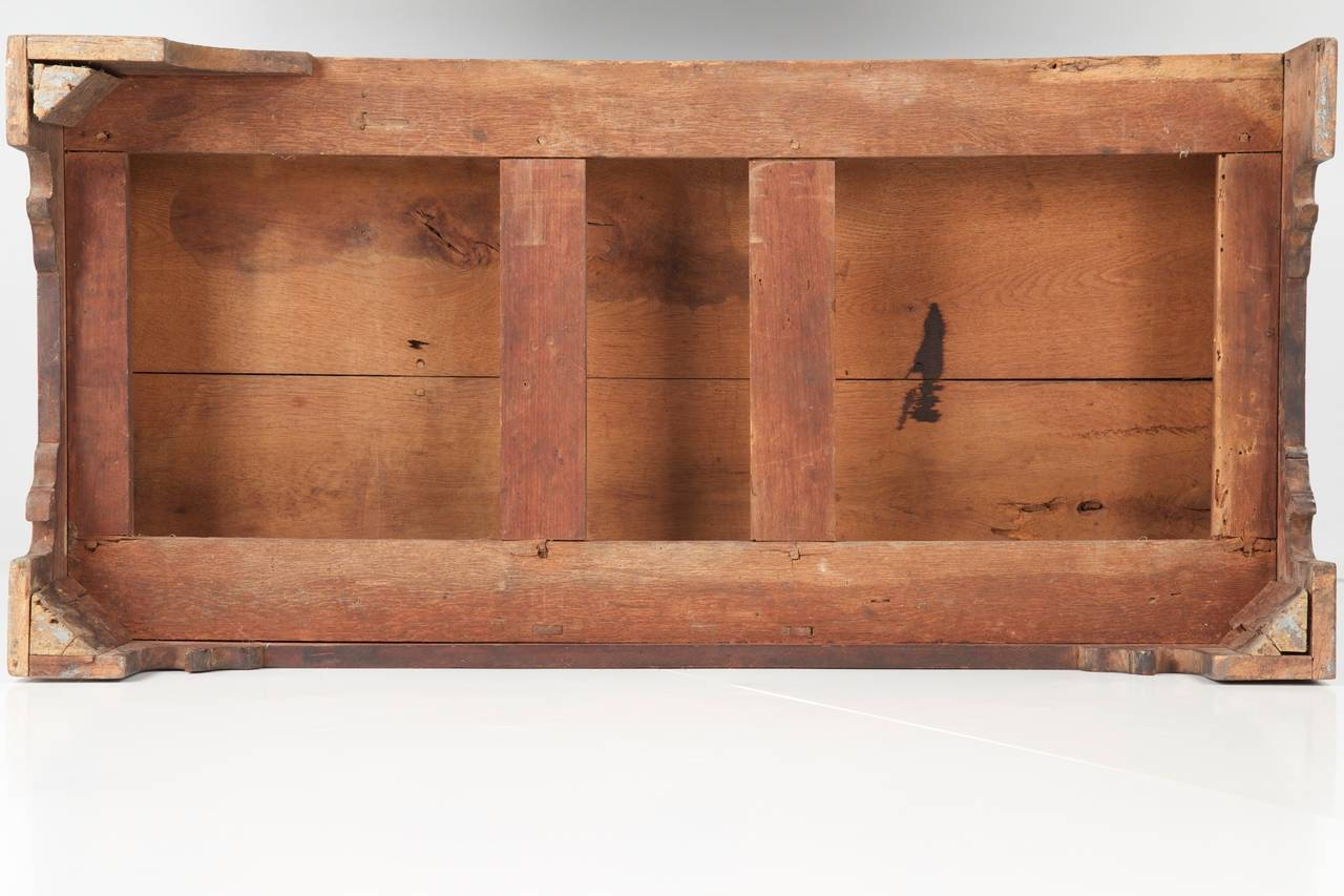 American Chippendale Antique Blanket Chest of Drawers, Pennsylvania, circa 1780 For Sale 2