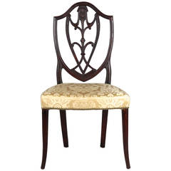 Exceedingly Fine American Federal Antique Side Chair, New York, circa 1790