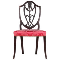 Rare American Federal Carved Side Chair, New York, circa 1790