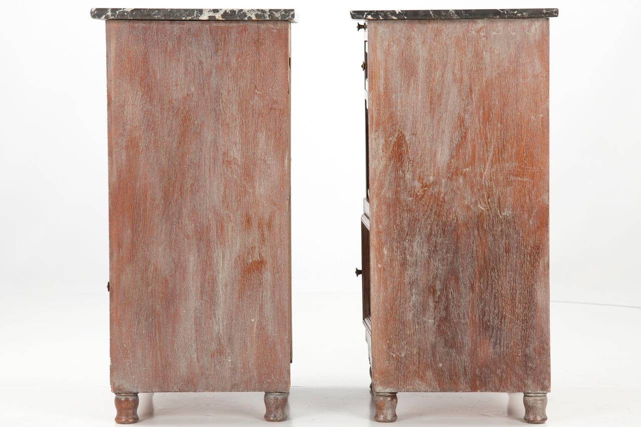 Pair of 19th century painted antique cabinets in the for 5 gorgeous pairs for antique white cabinets