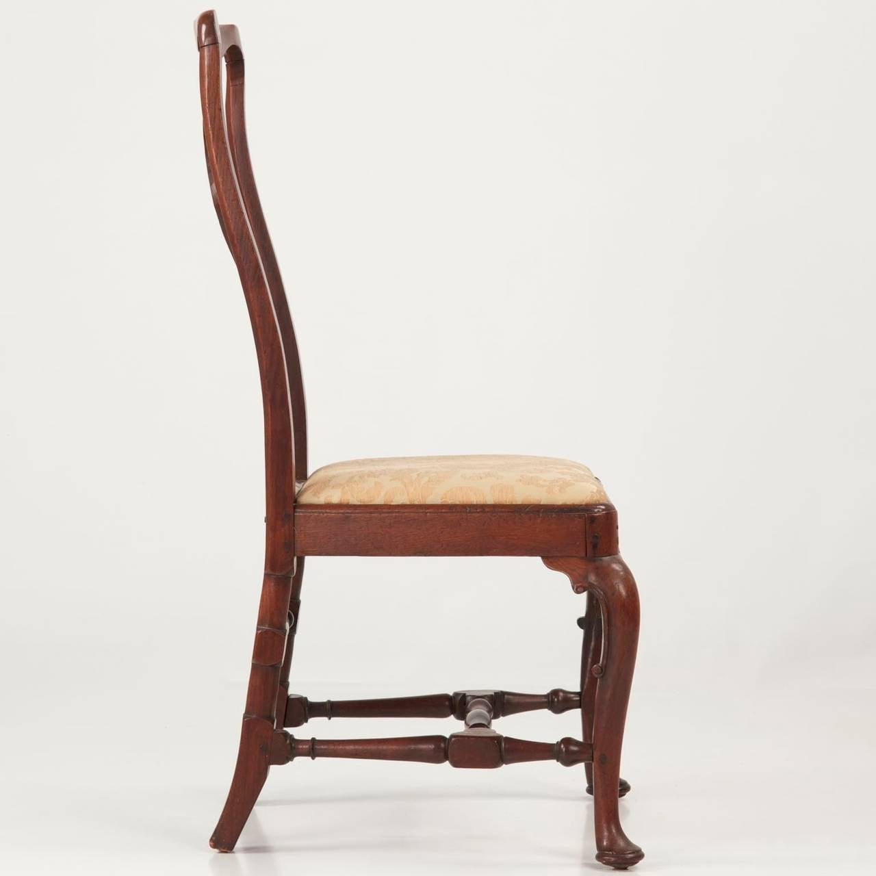 This Queen Anne Walnut Antique Side Chair, circa 1725-1740 is no ...