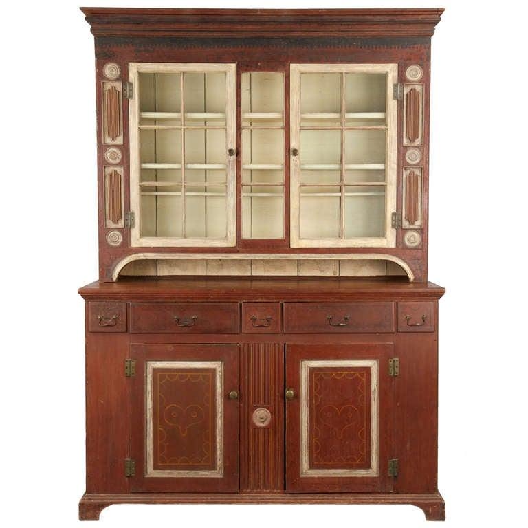 Cupboard cabinet, 19th century