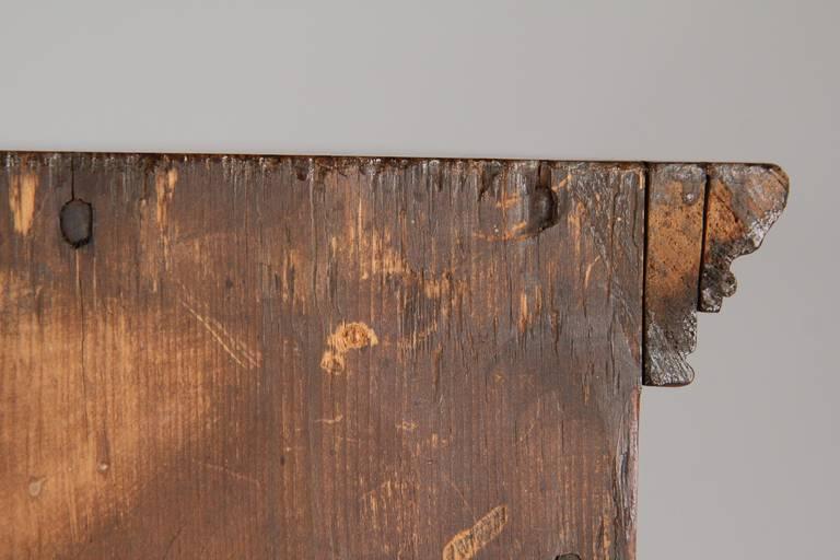 American Antique Scrubbed Pine Jelly Cupboard Cabinet, Pennsylvania, circa 1830 1