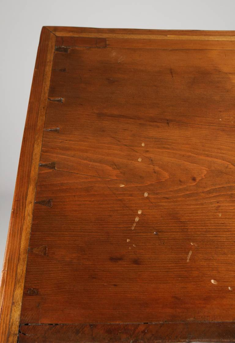 American Antique Scrubbed Pine Jelly Cupboard Cabinet, Pennsylvania, circa 1830 3