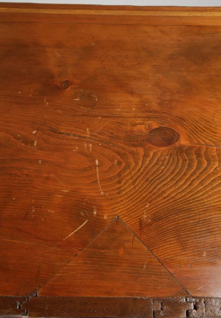 American Antique Scrubbed Pine Jelly Cupboard Cabinet, Pennsylvania, circa 1830 4