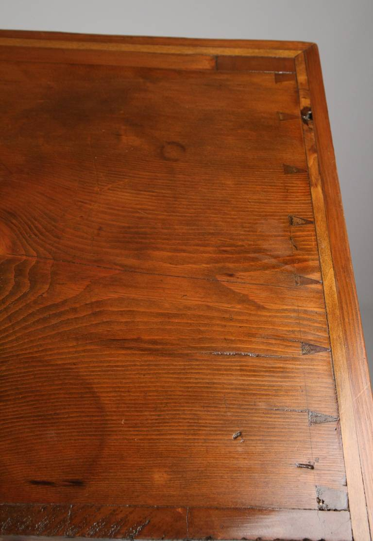 American Antique Scrubbed Pine Jelly Cupboard Cabinet