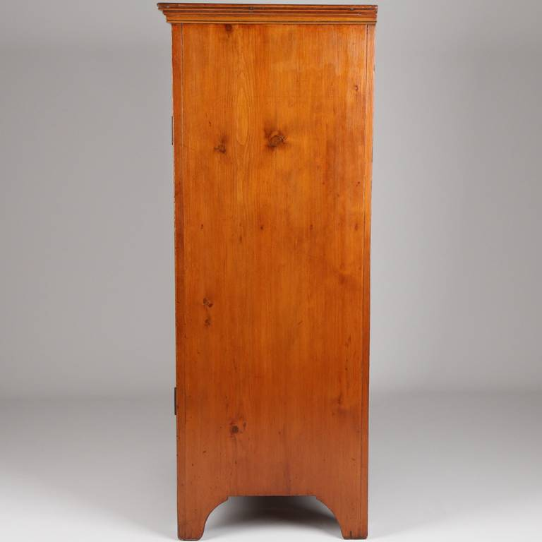 American Antique Scrubbed Pine Jelly Cupboard Cabinet, Pennsylvania, circa  1830 at 1stdibs - American Antique Scrubbed Pine Jelly Cupboard Cabinet, Pennsylvania