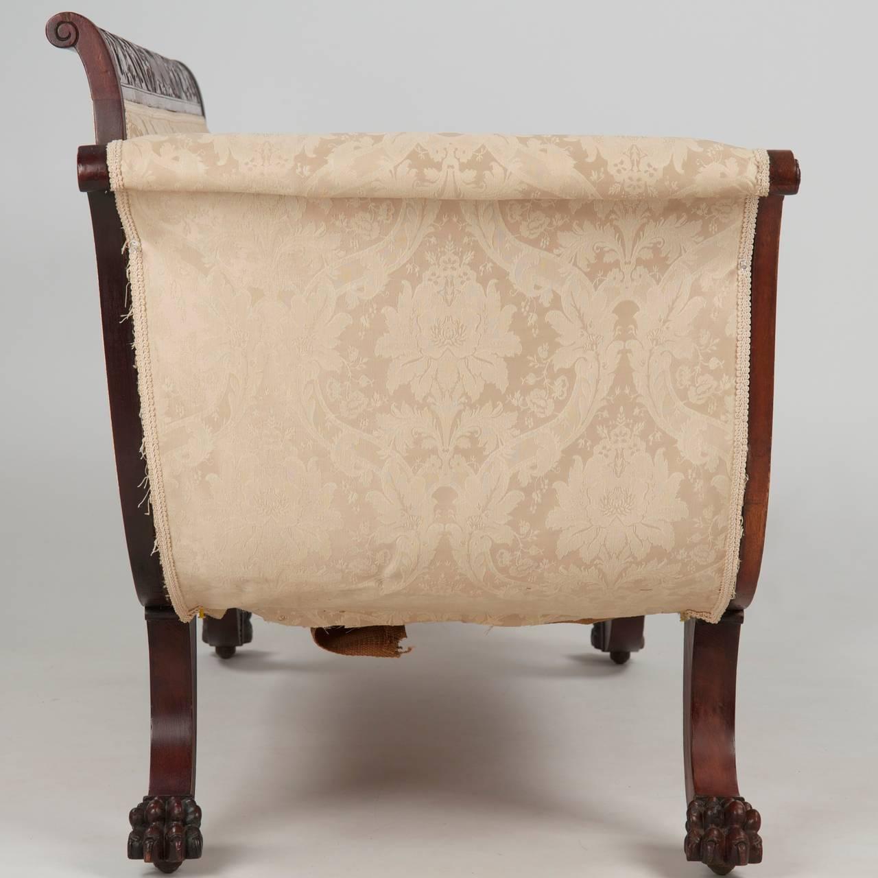 Antique Sofa Duncan Phyfe