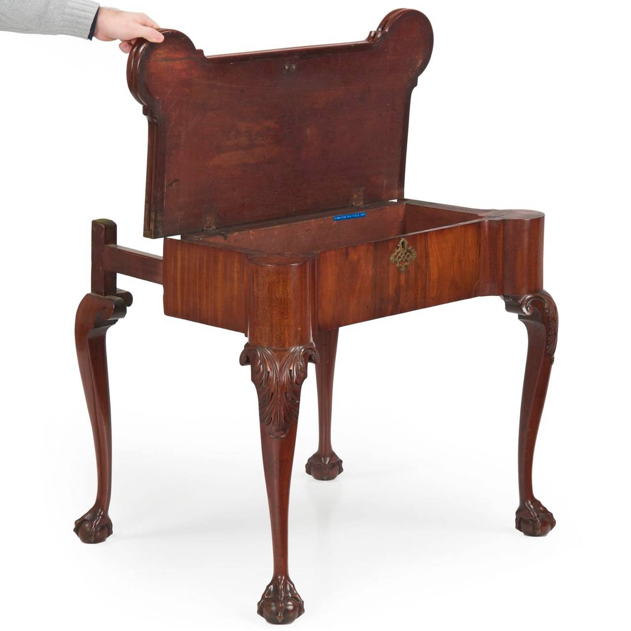 Swell English George Ii Mahogany Ball And Claw Antique Game Table Machost Co Dining Chair Design Ideas Machostcouk