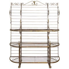 19th Century French Baker's Rack
