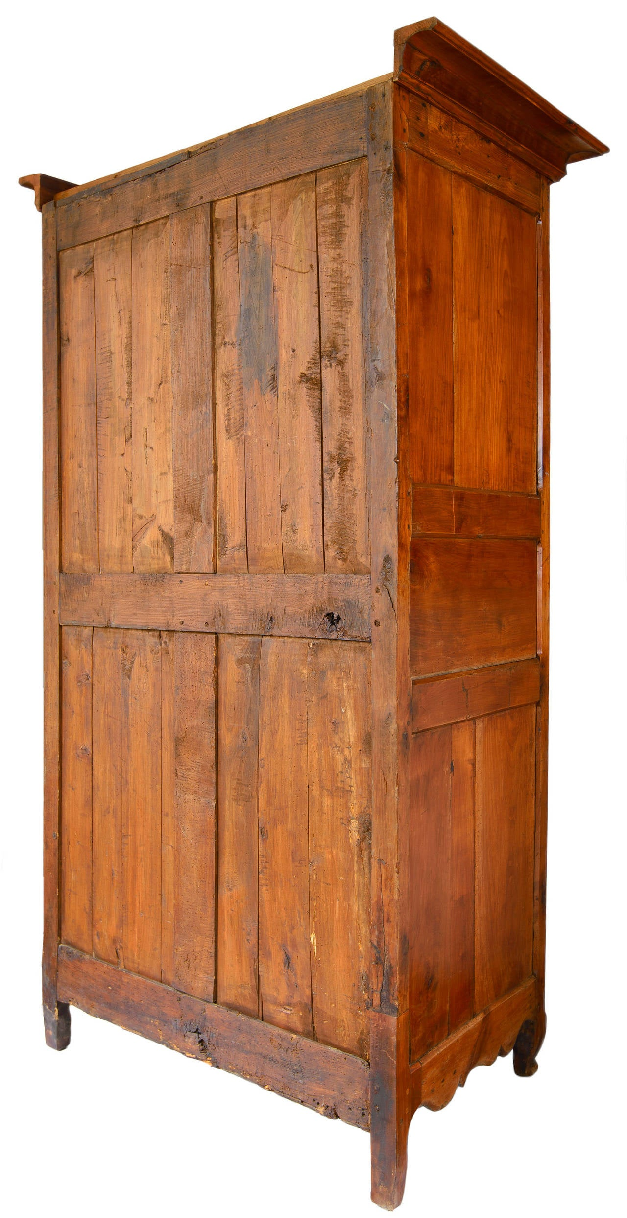 18th Century French Louis XV Bonnetiere, Armoire For Sale 3