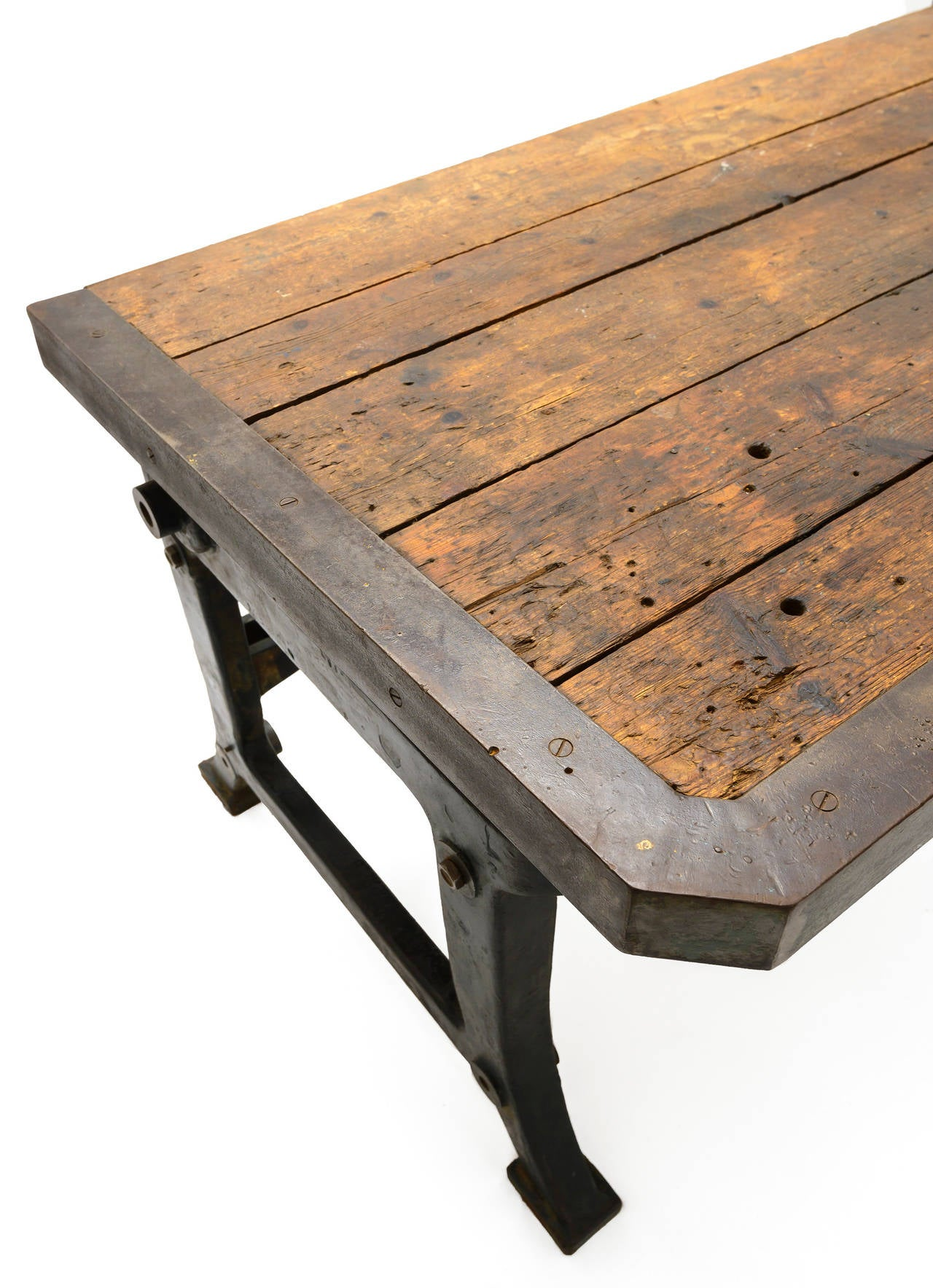 19th Century French Industrial Table For Sale 2