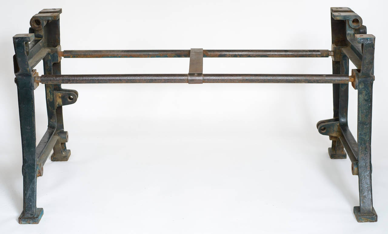19th Century French Industrial Table For Sale 1
