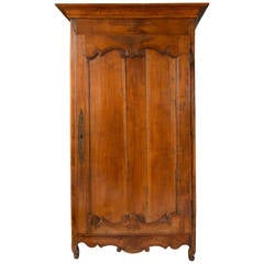 18th Century French Louis XV Bonnetiere, Armoire