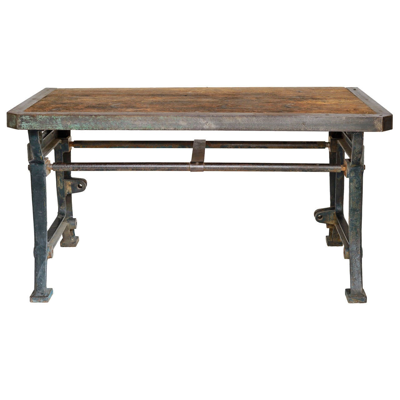 19th Century French Industrial Table