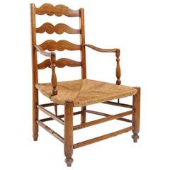 19th Century Rustic Armchair