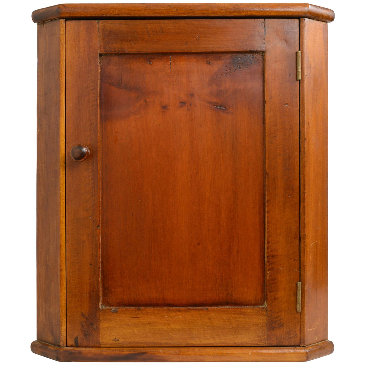 19th Century American Hanging Corner Cabinet At 1stdibs