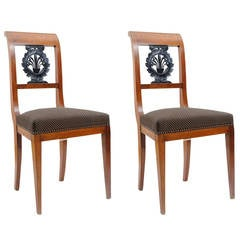 Pair of Empire Side Chairs