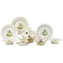 Boch of Belgium Faience Set of Dinnerware