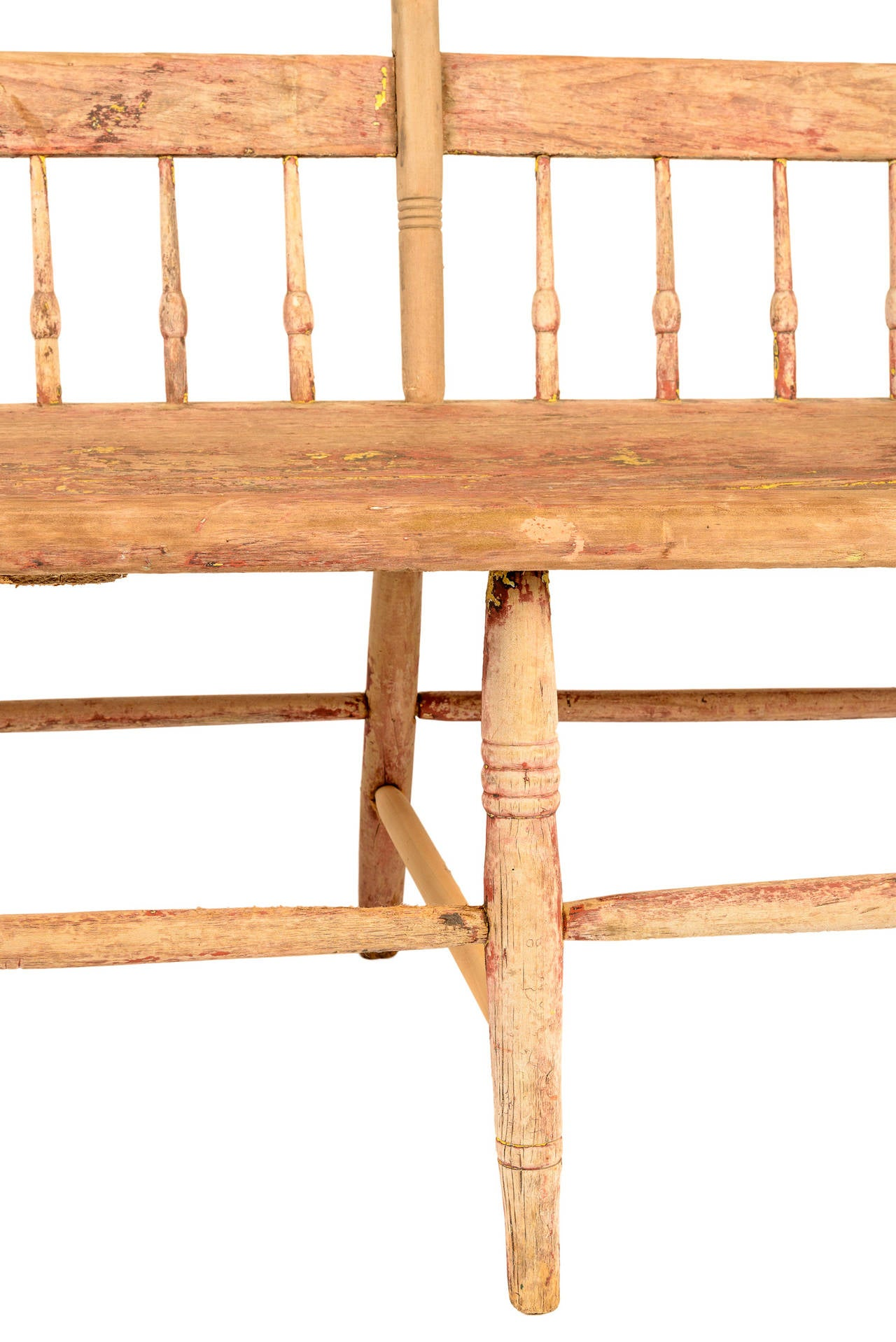 Deacons Bench Furniture 18th Century American Deacon S Bench For Sale At 1stdibs