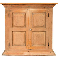 19th Century Hanging Cupboard from Belgium