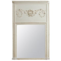 18th Century Louis XVI Trumeau Mirror, France