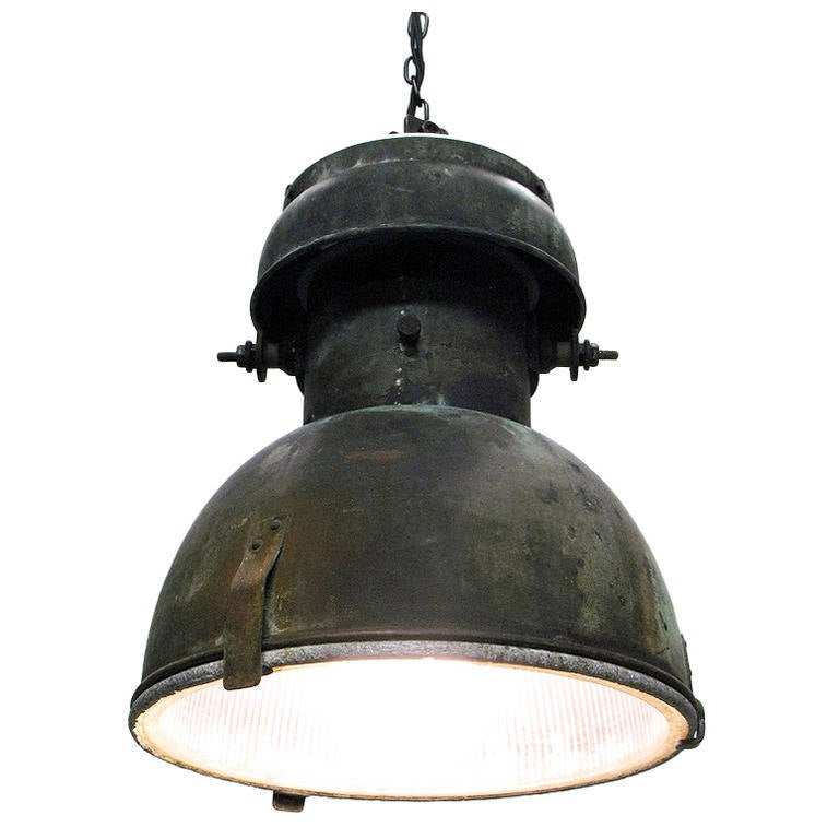 1930s industrial ceiling lamp at 1stdibs mozeypictures Gallery